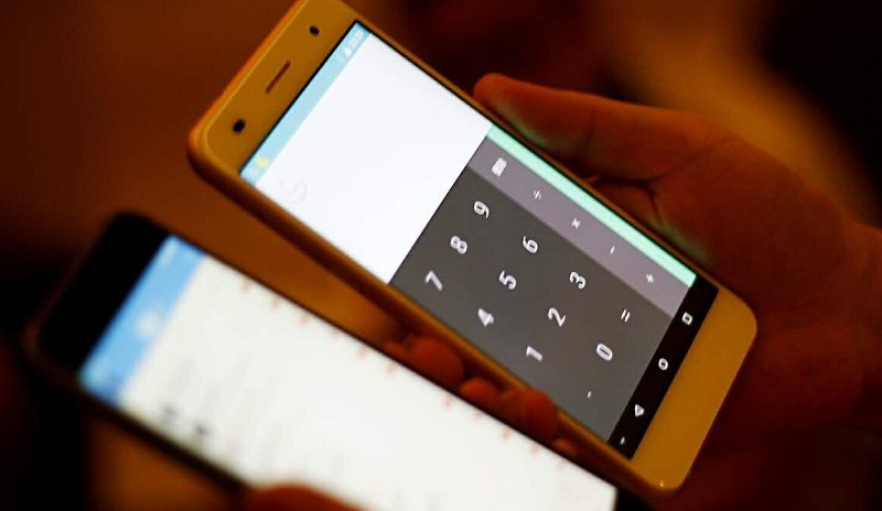 Ramos Mos1 flagship premier smartphone ecran