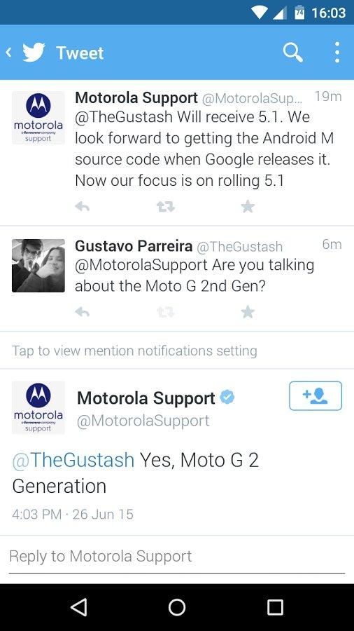 Moto G 2014 Lollipop
