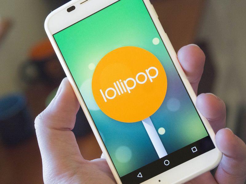 Moto X 2013 Lollipop