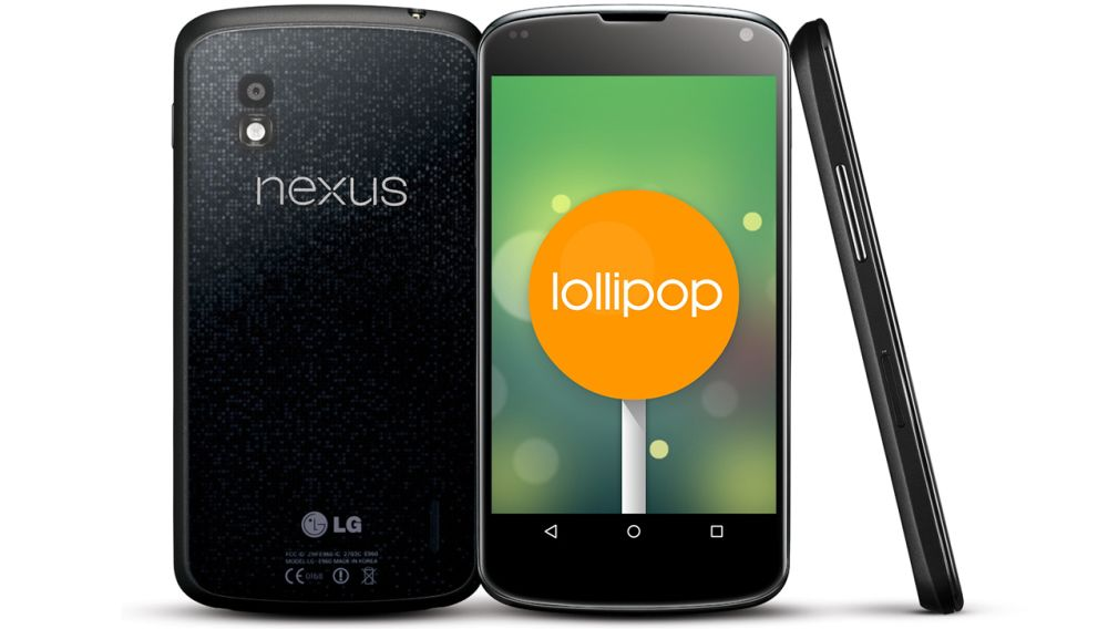 nexus 4 Lollipop