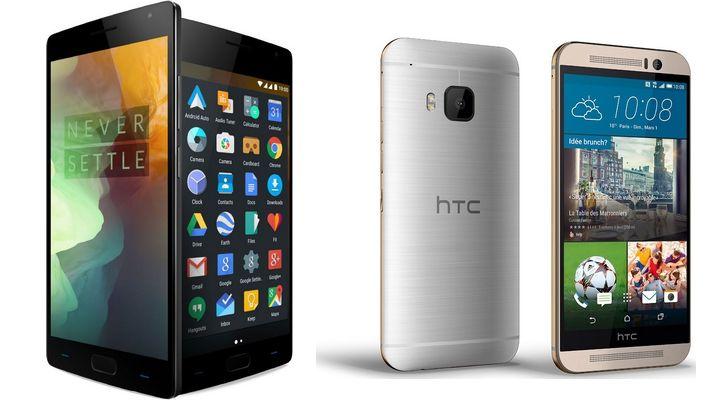 OnePlus 2 HTC One M9