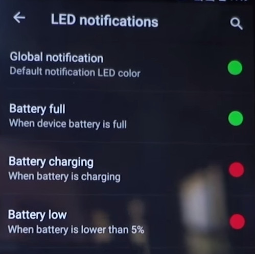 OnePlus 2 LED