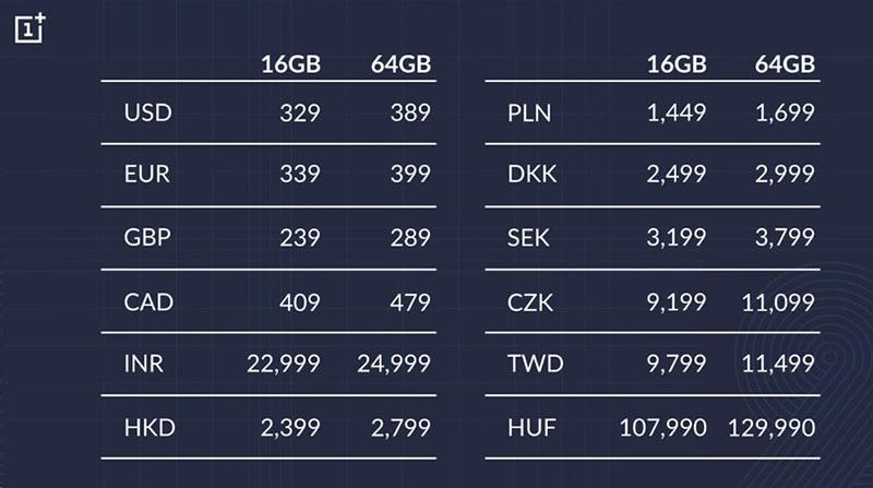 OnePlus 2 prix