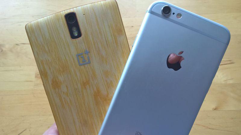 OnePlus 2 vs iPhone 6 camera