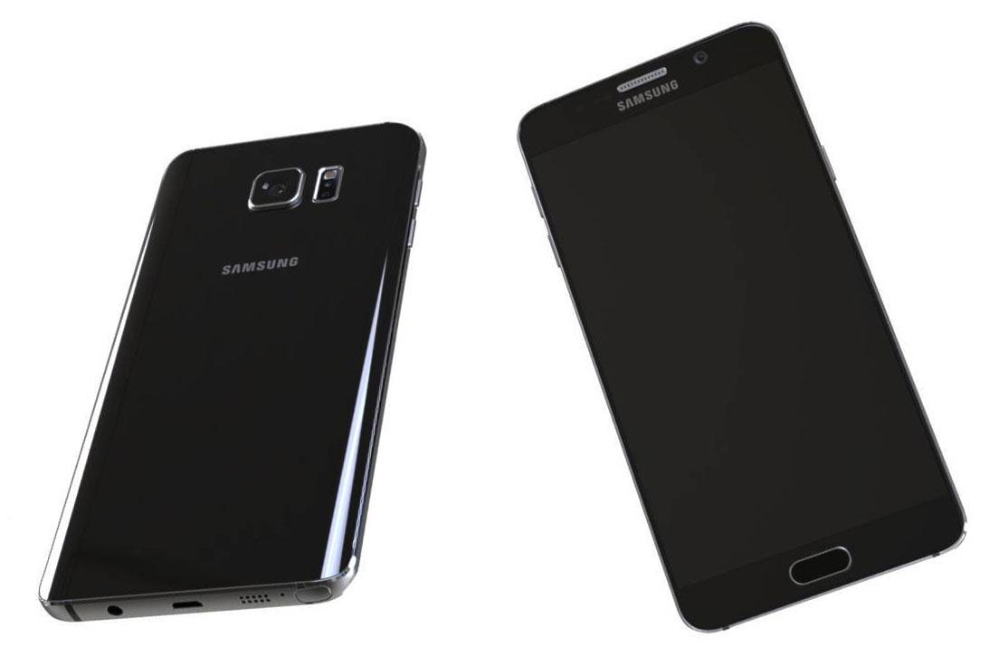 Galaxy Note 5 rendu