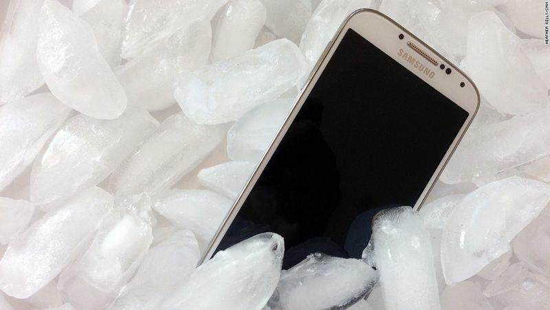 smartphone chaud