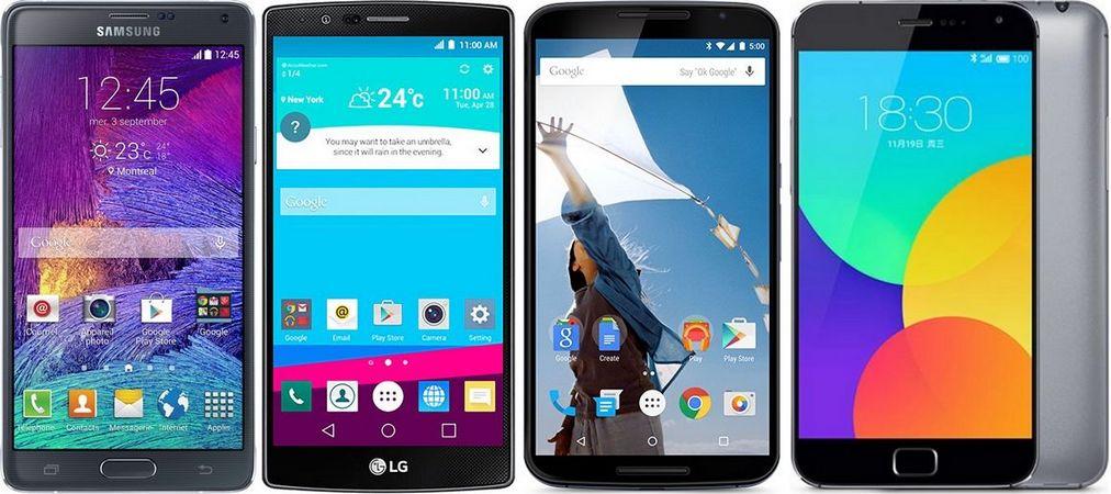 smartphones quad hd