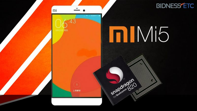 Snapdragon 820 Xiaomi