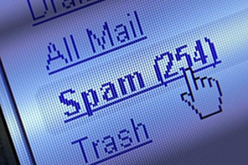 Symantec Spam bas niveau 2003 49,7 %