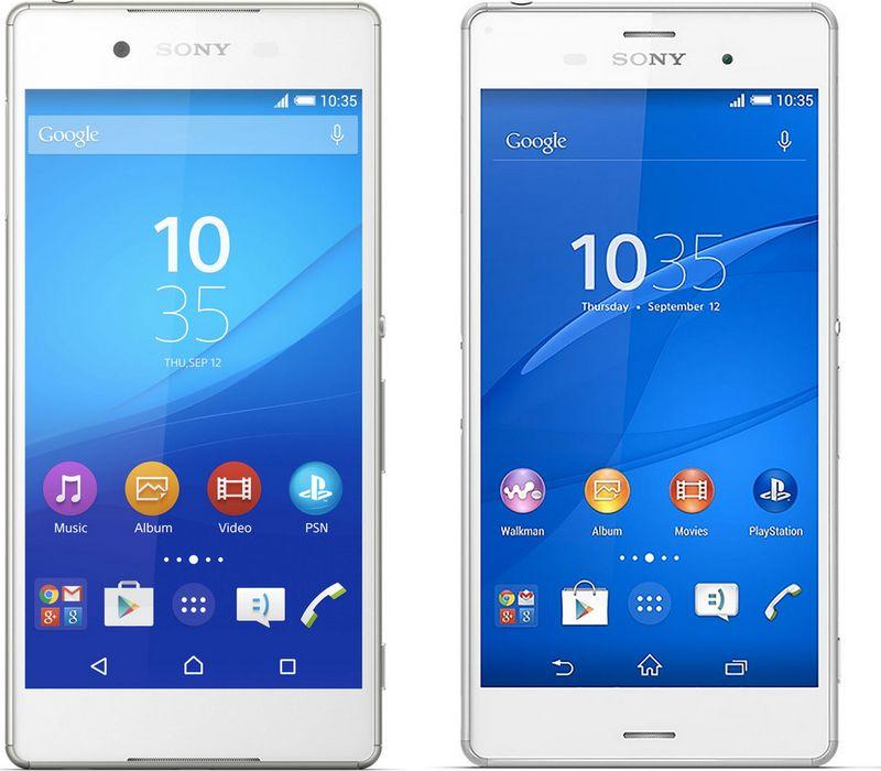 Sony Xperia Z4 vs Z3