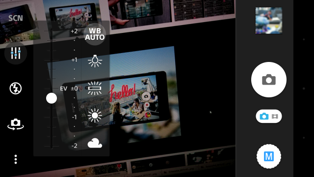 Sony Xperia Z3 nouvelle interface