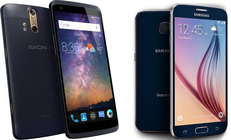 ZTE Axon Galaxy S6