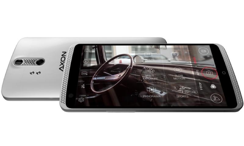 zte axon top smartphone