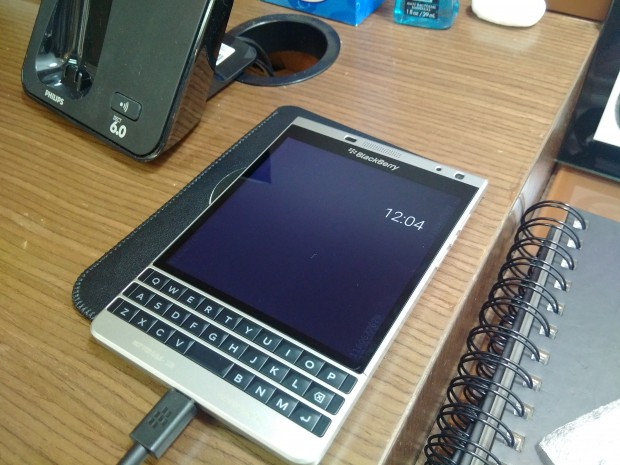 BlackBerry Passport sous Android