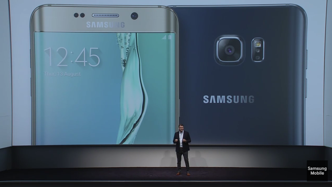 recapitulatif galaxy note 5 galaxy S6 Edge plus
