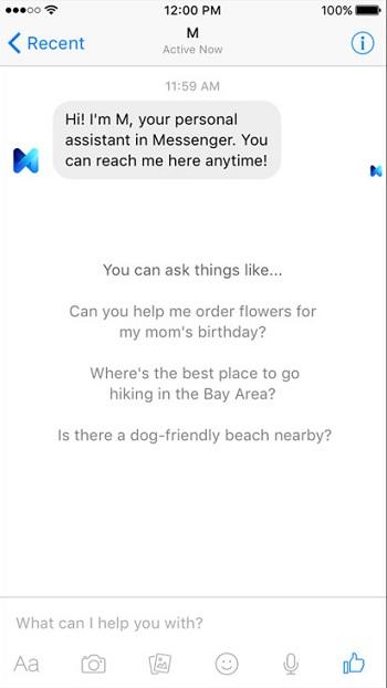 M Facebook assistant 1