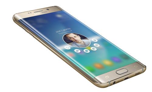 Galaxy S6 edge plus interface