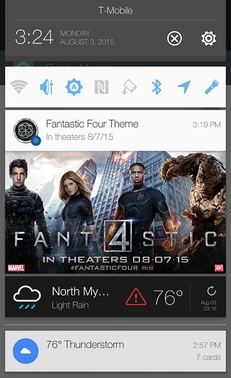 HTC One M9 4 Fantastique publicité notifications
