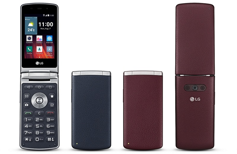 LG Smart Wine telephone clapet France