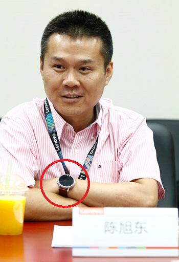 Moto 360 Chen Xudong Lenovo