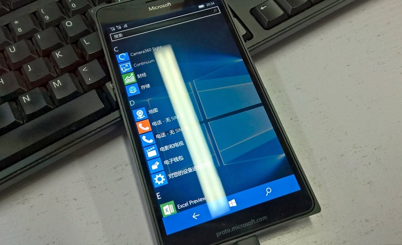 Lumia 950 XL proto