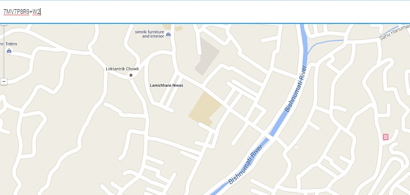 Plus Code Google Maps zoom
