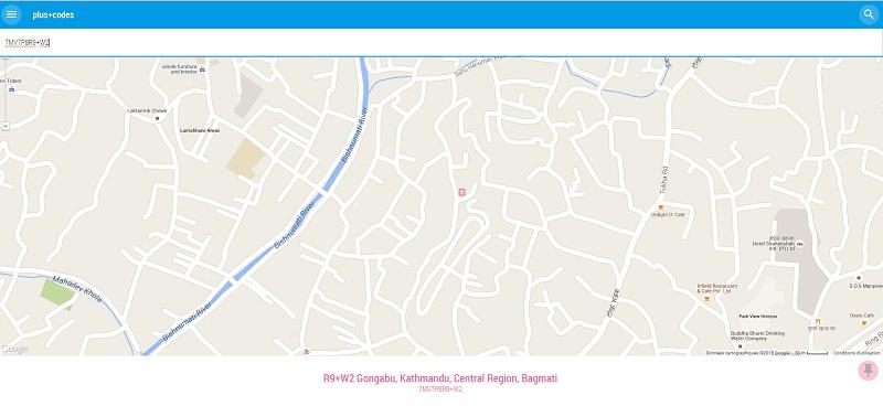 Plus Codes Google Maps