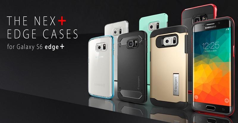 Spigen coques Galaxy Note 5 S6 Edge Plus