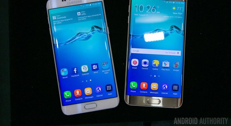 Interface Galaxy S6 Edge+