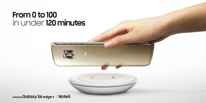 Samsung fast wireless chargeur