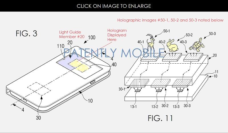Samsung Hologramme ecran 2