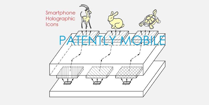 Samsung Hologramme ecran