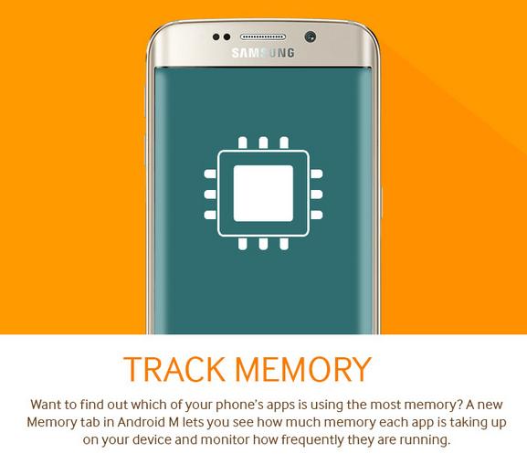 Android M mémoire