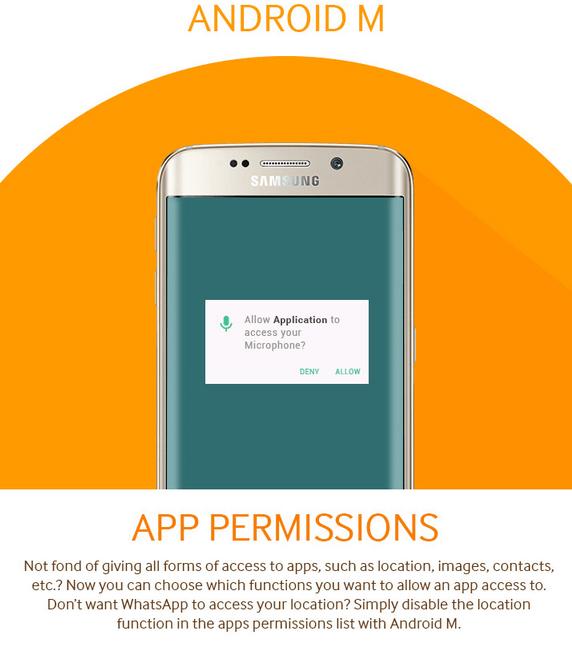 Android M App permission