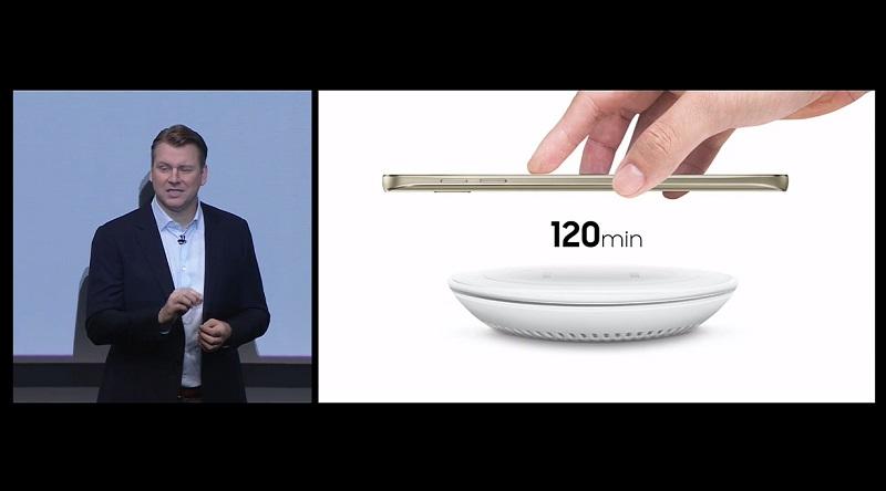 Samsung chargeur rapide sans fil Galaxy Note 5