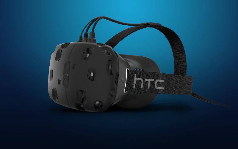 HTC Vive repoussé