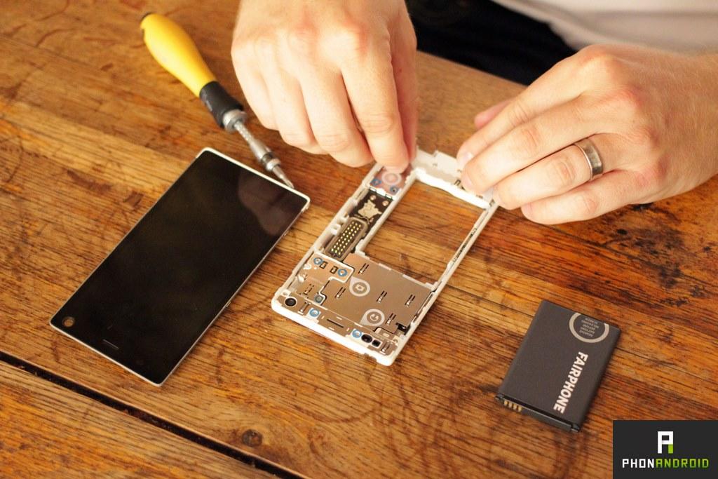 fairphone 2 demontage