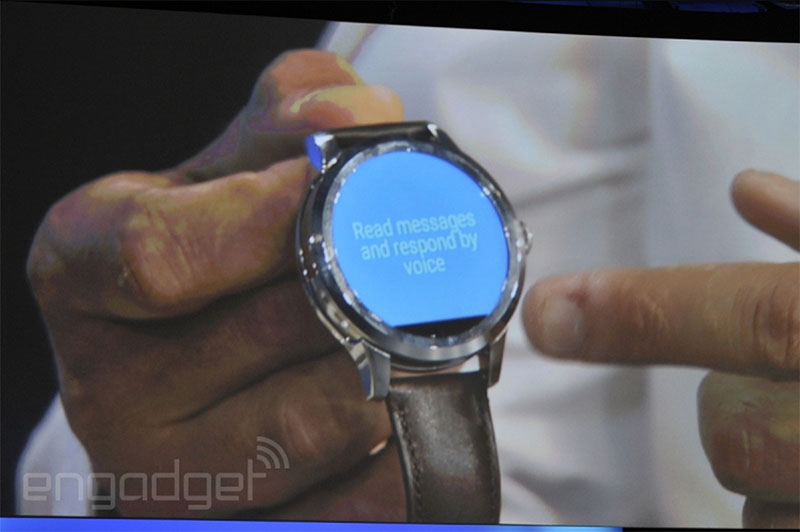 fossil android wear bande noire