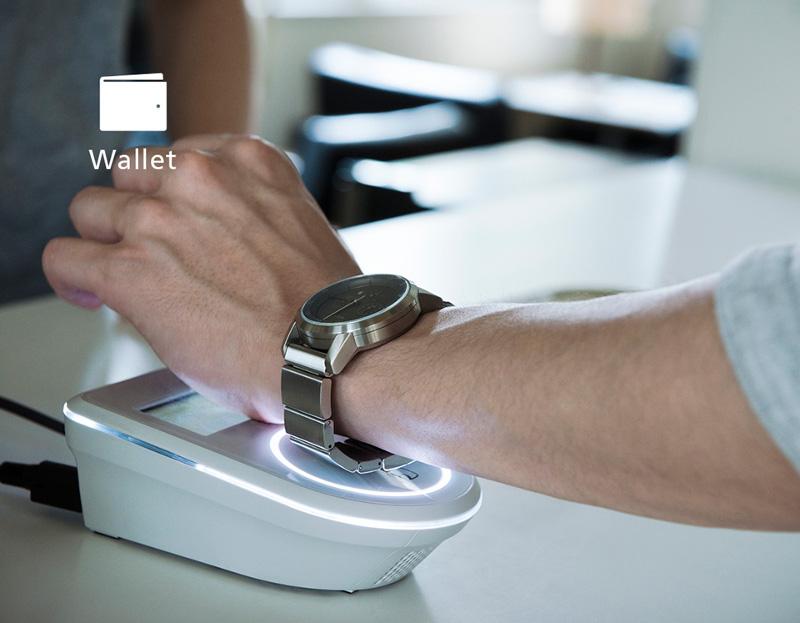 Wena Wrist paiement