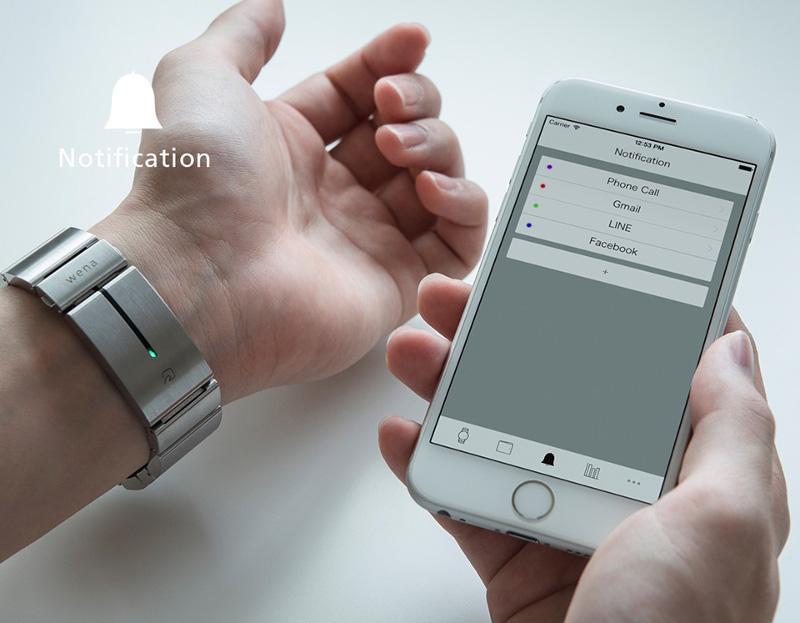 Wena Wrist notification