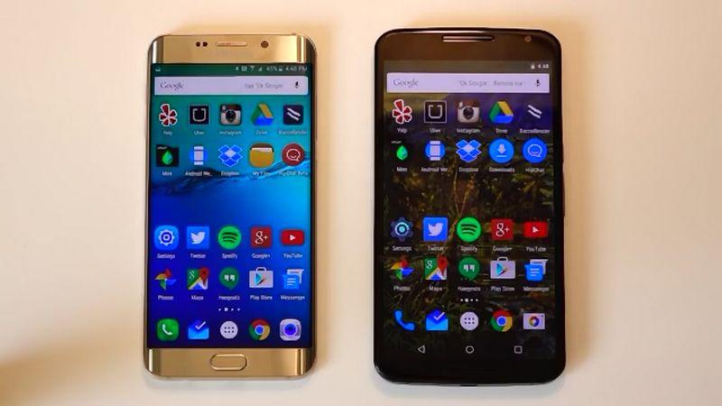 Galaxy S6 Edge+ vs Nexus 6