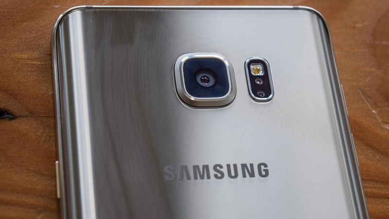 Galaxy Note 5 capteur photo