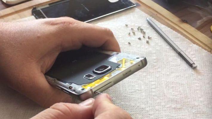 demontage Galaxy Note 5