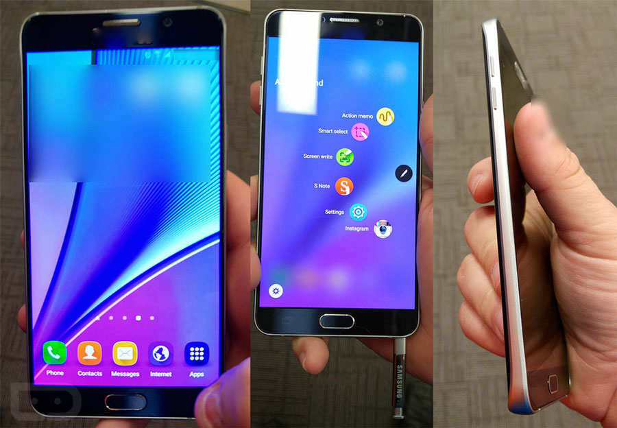 galaxy note 5 interface