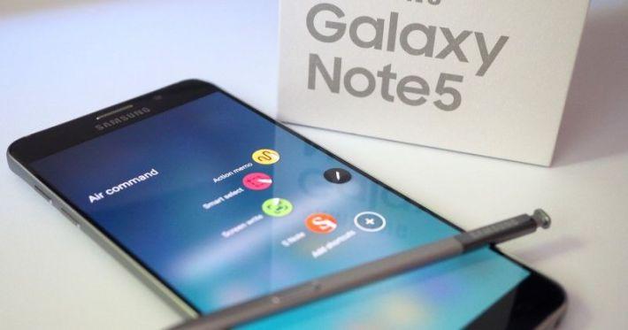 Galaxy Note 5 S Pen