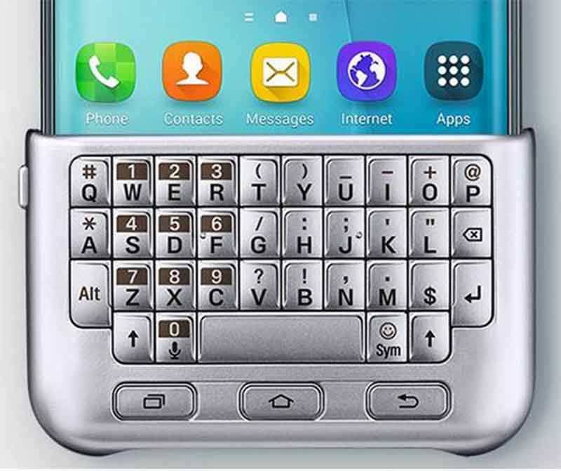 galaxy s6 edge plus clavier physique