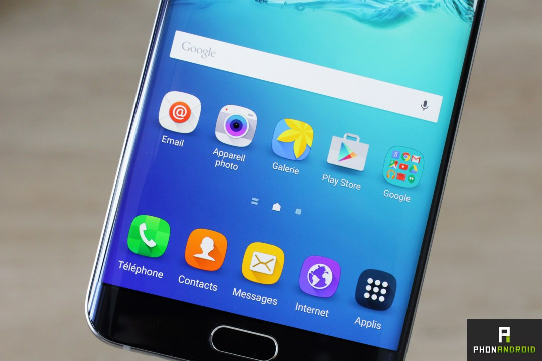galaxy s6 edge plus resolution ecran