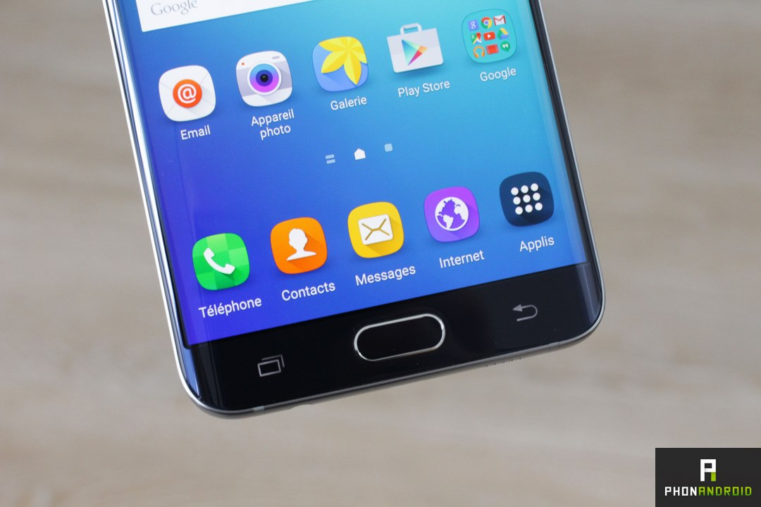 galaxy s6 edge plus touche tactile