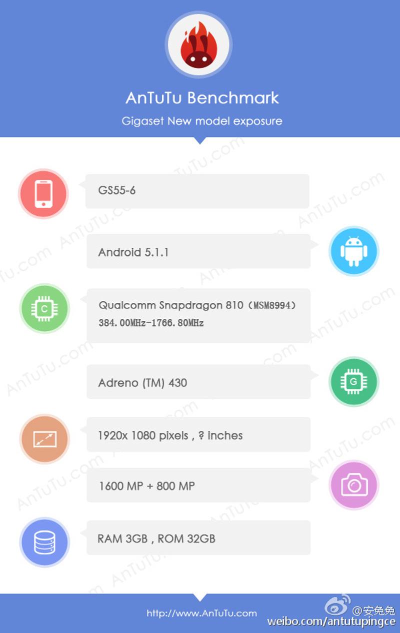 gigaset smartphone allemand