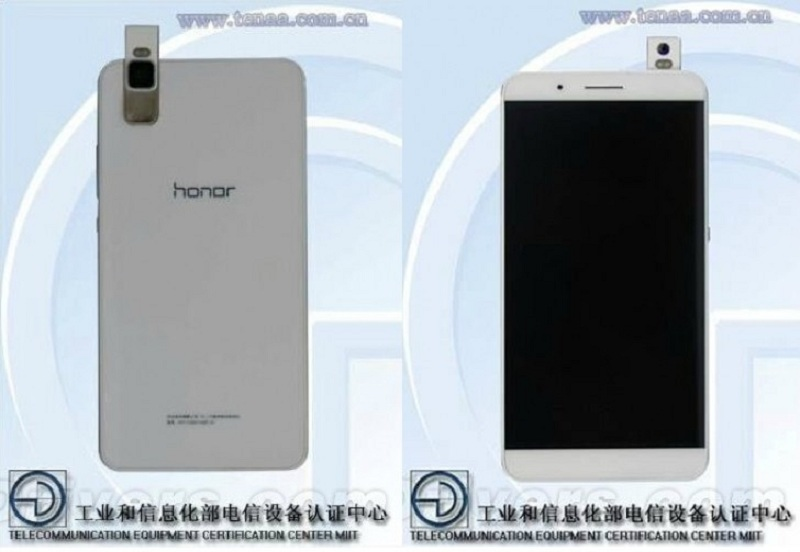 Huawei Honor appareil photo rétractable